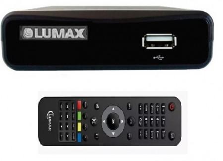 DVB-t2 тюнер Lumax DV-1111 hd для приема цифрового телевидения