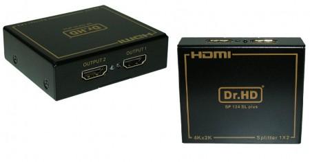 HDMI сплиттер dr hd sp 124 sl plus на два телевизора