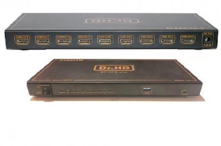 Dr hd sp 184 sl plus HDMI делитель на 8 потребителей