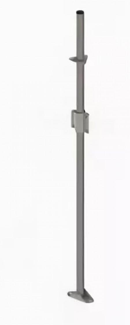 Мачта стальная длиной 3 метра с защитным покрытием
