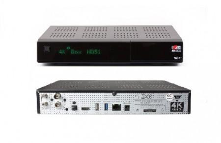 AX Opticum hd51 4k s2x c Ci+ спутниковый ресивер