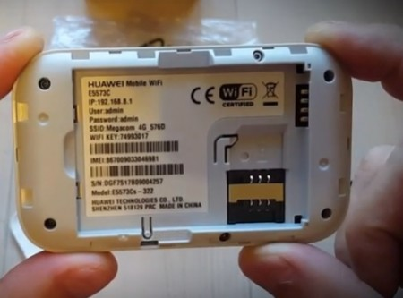 Мобильный wi-fi роутер huawei e5573 320 2g 3g 4g
