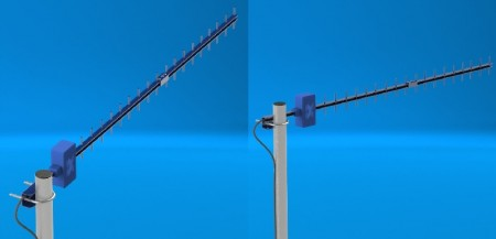 Антенна AX 1817Y волновой канал для 2g 4g