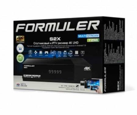 Formuler s2x 4k ресивер спутниковый с тюнером dvb s2x