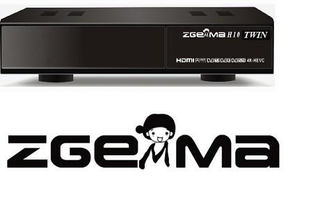 Спутниковый ресивер Zgemma h10 twin 4k с двумя DVB-S2X тюнерами