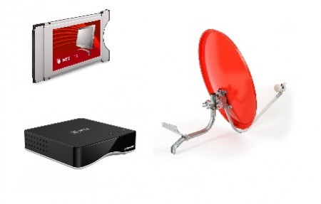 Установка ресивера МТС и настройка телеканалов через тарелку