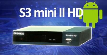 Openbox s3 mini ii hd ресивер с кодеком HEVC H.265
