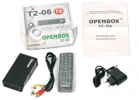 Цифровой ресивер Openbox t2 06