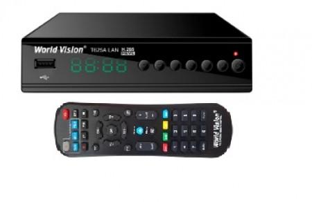 Цифровой ресивер World Vision T625A LAN