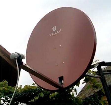 Triax td 088 спутниковая тарелка офсетная