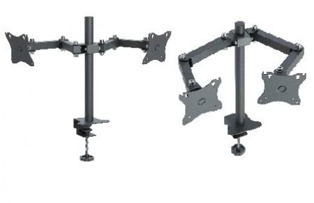 Универсальный кронштейн для двух мониторов k502
