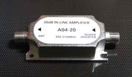 a04 20 спутниковый усилитель для компенсации потерь сигнала на кабеле