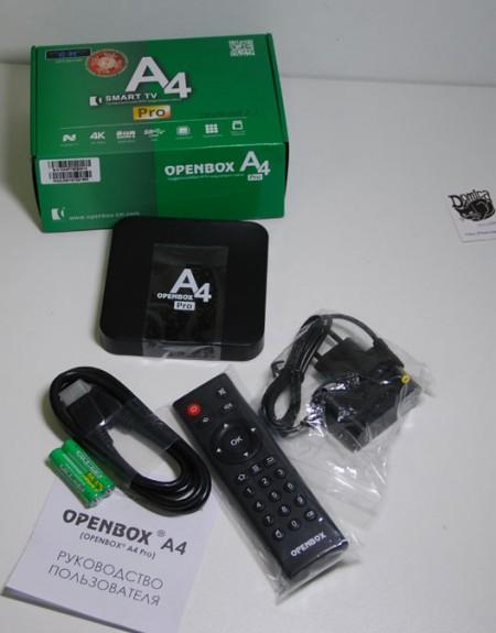 IPTV плеер Openbox a4 pro