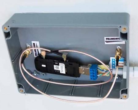 AX 2520p box с усилением 20 дБ