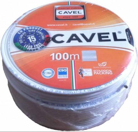 Кабель коаксиальный телевизионный cavel sat dg 113