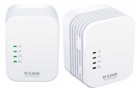 PLC адаптеры d link dhp w310av со встроенным wi-fi 2,4