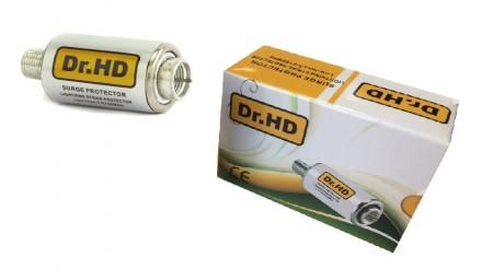 Надежная грозозащита dr hd для эфирного и спутникового ТВ