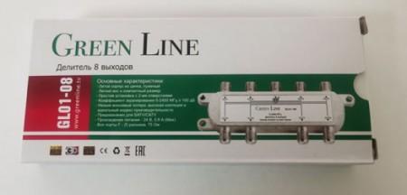 Делитель Green Line GL01-08 на 8 выходов