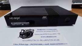 HD box 4k prime S2 спутниковый ресивер на Android