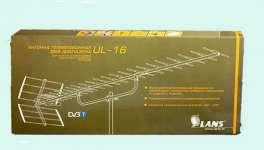 Lans ul 16 уличная антенна с усилением до 15 дБ