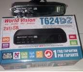 Цифровая приставка World vision t624 d2