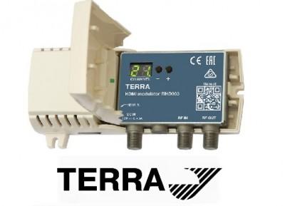 Литовский HDMI модулятор terra MHD003 DVB C