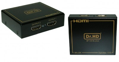 HDMI сплиттер dr hd sp 124 sl plus на два телевизора