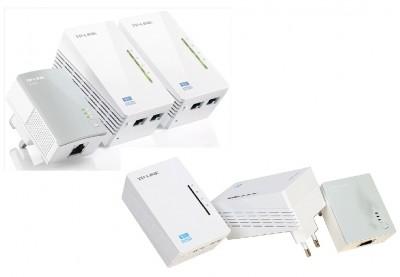 PLC адаптеры tp link tl wpa4220t kit с Wi-fi