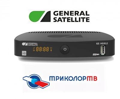 Приемник gs h5912 от Триколор ТВ для просмотра контента через интернет