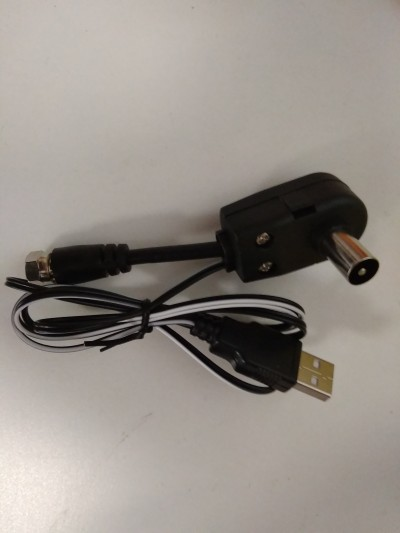 Инжектор для подачи питания 5 Вольт на эфирную антенну через USB