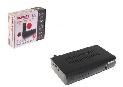 Цифровая приставка Lumax dv4201hd DVB T2 C