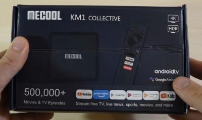 Android ТВ приставка Mecool km1 atv
