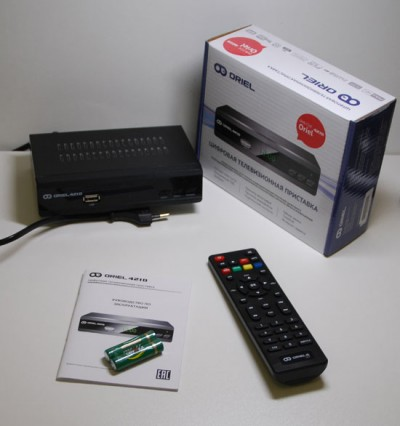 Oriel 421D DVB T2 C