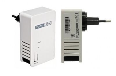 Powerline адаптеры totolink pl200 kit