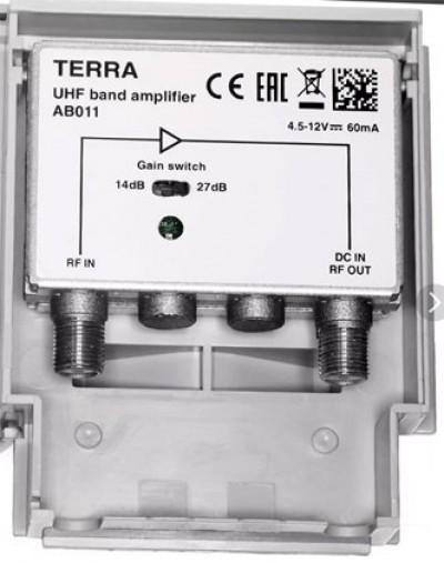 Terra AB 011 для DVB T2 сигнала