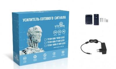 Двух диапазонный репитер Titan 900 1800 led