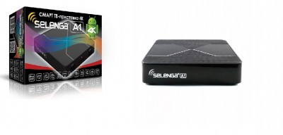 Смарт ТВ приставка Selenga A1 для IPTV