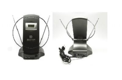 Комнатная цифровая антенна Вектор ar 032 с усилителем