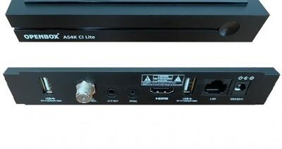 Спутниковый ресивер Openbox AS4K CI Lite