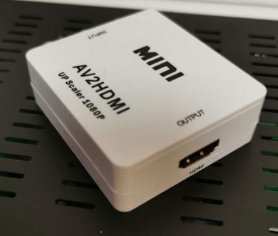 Av2hdmi конвертер из AV в HD
