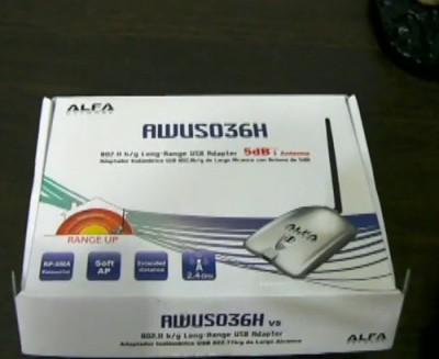 Alfa awus036nh wifi адаптер со съемной антенной