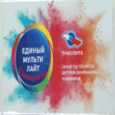 Годовая карта подписки на пакет Единый Мулти Лайт