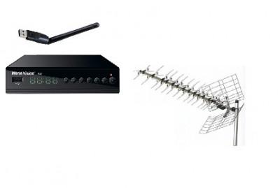 Монтаж цифрового телевидения с активной антенной