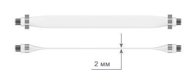 Плоский антенный переходник Luxmann 511-901