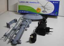 Комнатная антенна Locus L 850.08 с усилителем