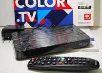 GS b528 UHD приставка 4K от Триколор ТВ