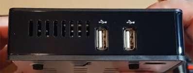 Ресивер hd box s4k combo для шаринга и карт Conax