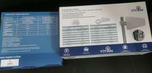 Комплект Titan 900 1800 2100 led усиления сотовой связи и 3g 4g интернета