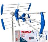 Lumax da2510p антенна dvb t2 до 33 км от вышки