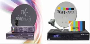 Телекарта ТВ комплект
